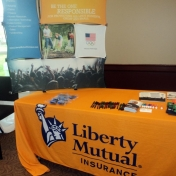 Sponsor and Booth- Liberty Mutual Insurance