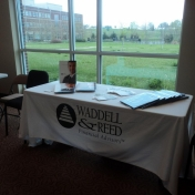 Sponsor and Booth- Waddell & Reed Financial Advisors