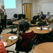 Dr. Kensicki shares insights with RMI students