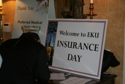 Welcome to EKU Insurance Day