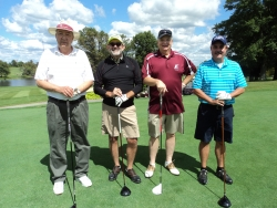 (l-r) Pete Kensicki, Shawn Weir, Richard Showden, and Brian Dickey