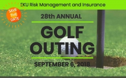 Golf outing flyer graphic