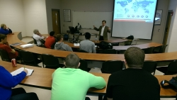 Hughes speaks to RMI students