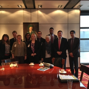 EKU Risk Management and Insurance Students at Lloyd's International