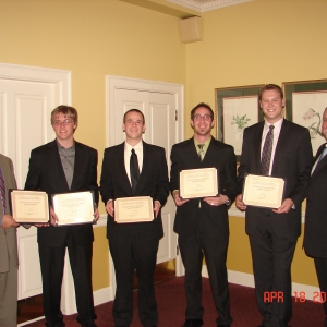 RMI awards recipients