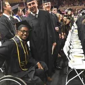 RMI candidates at spring commencement