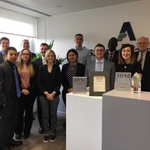 RMI student at AssuredPartners in London